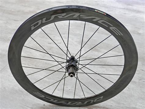 Shimano Dura Ace C60 Clincher Wheelset shimano dura ace r9100 wheels in detail wider carbon