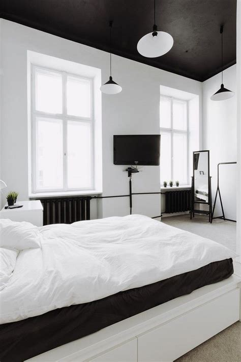 white themed bedrooms 25 best ideas about black ceiling on pinterest