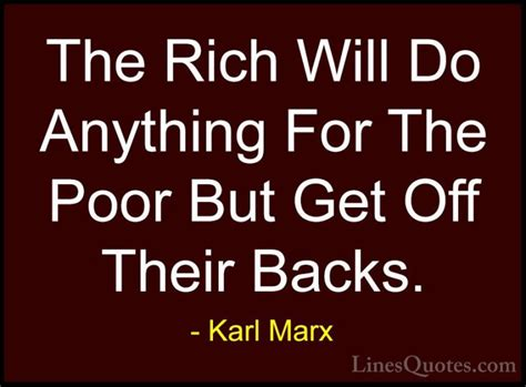 Do The Rich Blogistas Get Richer Necessarily by Karl Marx Quotes And Sayings With Images Linesquotes