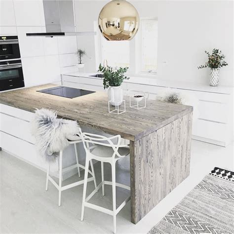 modern kitchen island table wood kitchen counter modern kitchen design ideas