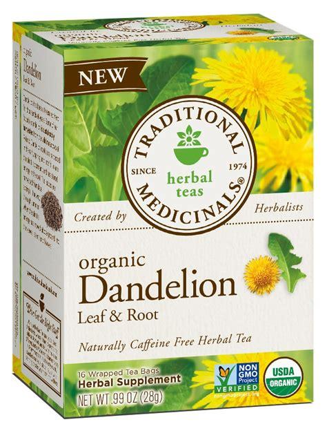 Dandelion Root Tea Detox Reviews by Traditional Medicinals Tea Review Giveaway Closed