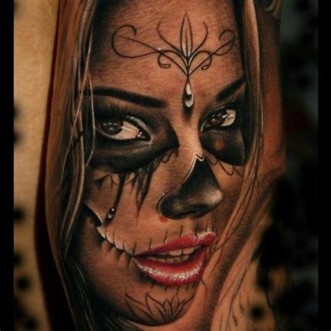 imagenes tatuajes catrinas rostros