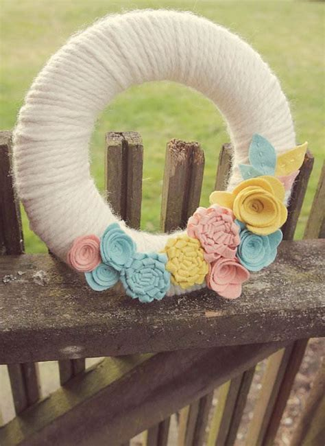 Handmade Crafts Ideas - mothers day ideas felt craft flower