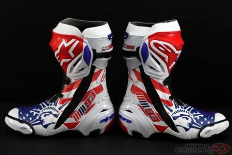 alpinestars limited edition supertech r marquez boots