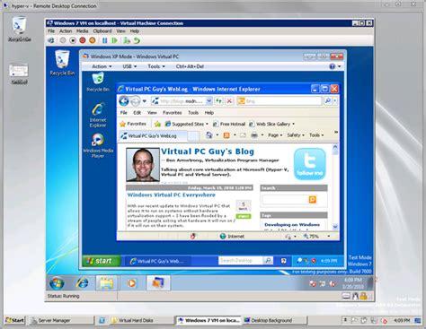 xp setup virtual host mac windows virtual pc everywhere part 2 ben armstrong s