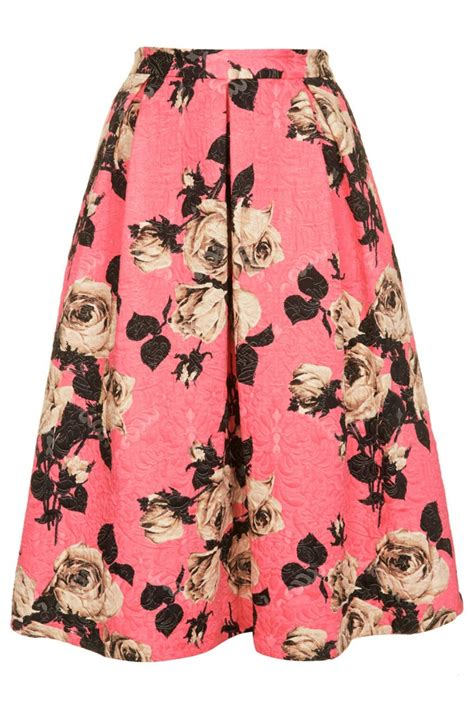Topshop Ladybird Skirt by Get The Look Featuring Osbourne