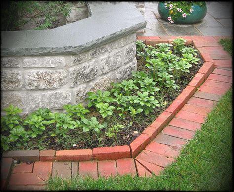 interior brick landscape edging home depot lawn ideas