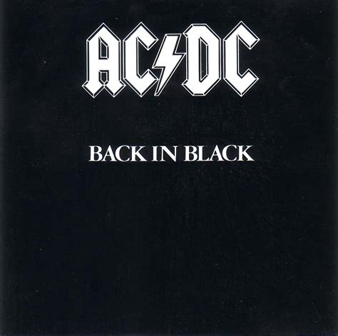 back in black sortie le 25 juillet 1980 171 back in black 187 est le 2e