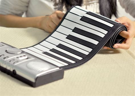 Sale Piano Gulung Silicon Roll Up Piano roll up synthesizer keyboard piano with soft