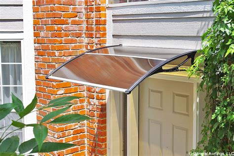 back door awnings pc900 series economy door canopy