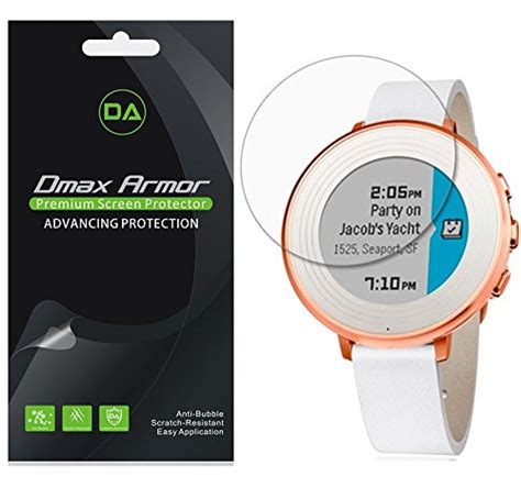 pebble time 14mm screen protector 6 pack dmax