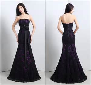 purple and black wedding dress black and purple lace wedding dresses ipunya