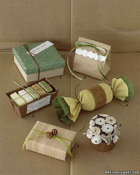 gift packing ideas gift wrapping ideas martha stewart