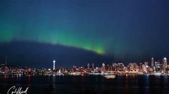 Northern Lights Seattle photos northern lights put on dazzling display puget sound region komo