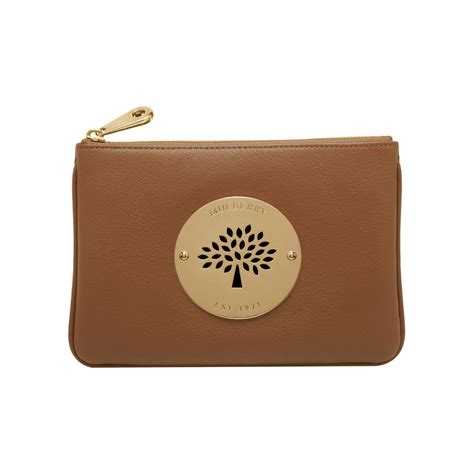 3 In 1 Bg098 Brown Free Pouch lyst mulberry pouch in brown