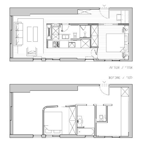 40 square meters 40 square meter apartment in tel aviv displaying an