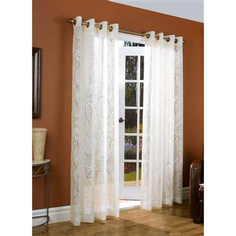 grommet top sheer curtains couture paradise burnout curtains 104x84 quot grommet top