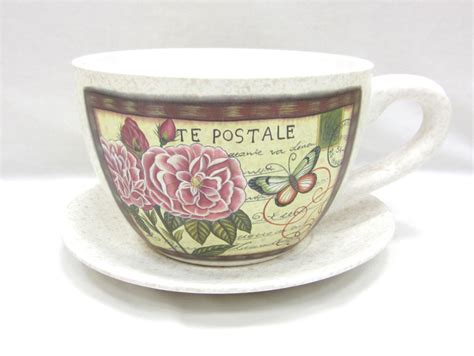 Cup And Saucer Planter by Large Tea Cup And Saucer Planter K K Club 2017