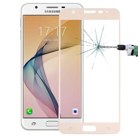 For Samsung Galaxy On7 Abu Abu Gratis Tempered Glass Ultra for samsung galaxy on7 0 26mm 9h surface hardness explosion proof silk screen tempered glass