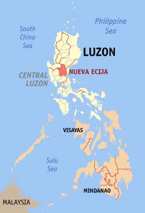 san jose city nueva ecija map san jose city nueva ecija philippines universal