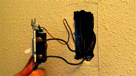 how to easily replace or change a light switch