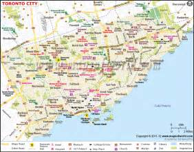 map of us and canada toronto toronto canada map america