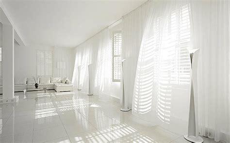 white room decor cool white room flowing curtains decor interior design ideas