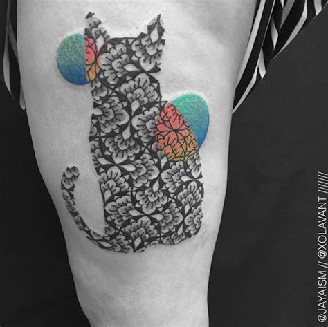repetitive pattern tattoo bold tattoos feature repetitive patterns inspired by