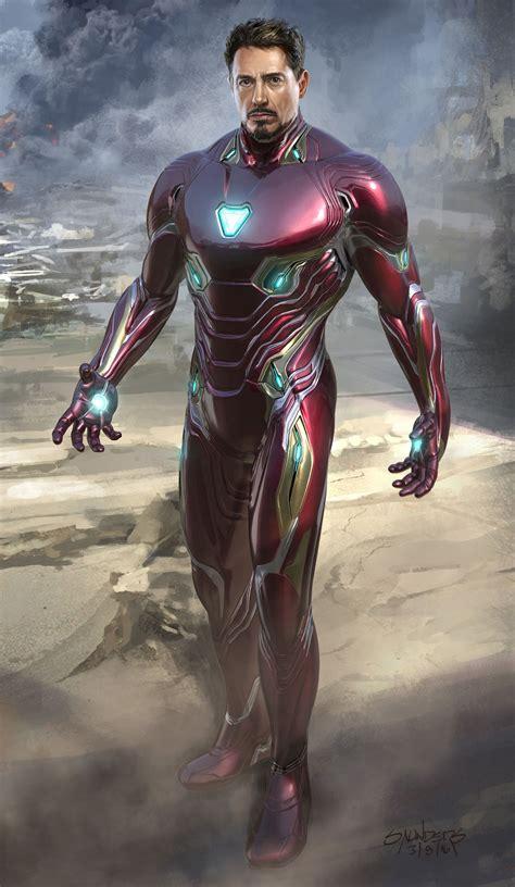 avengers infinity war concept art phil saunders