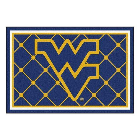 fanmats west virginia university  ft   ft area rug