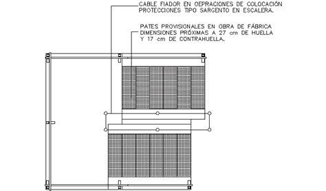 barandilla bloque autocad descarga gratuita del bloque autocad protecciones