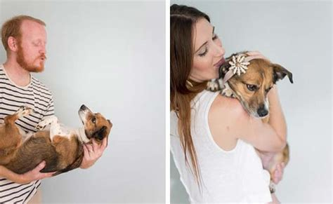 puppy photoshoot viral this s newborn photo shoot with is just epic