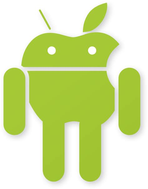 android logo the gallery for gt white android phone png
