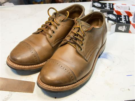 dye your shoes or other leather goods