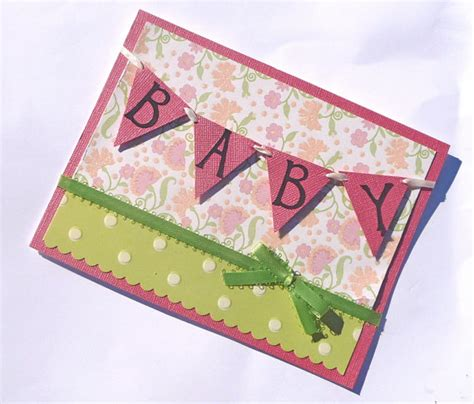 Handmade Baby Shower Cards - baby shower handmade card ideas let s celebrate