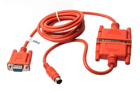 Kabel Data Plc Mitsubishi programmier kabel rs232 rs422 plc f 252 r mitsubishi melsec fx fx0n fx1n ebay