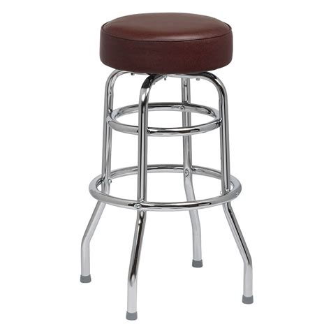 royal industries bar stools royal industries roy 7712 brn double ring bar stool w