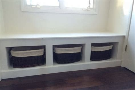 built in bench seat with storage diy wooden window bench seat with storage