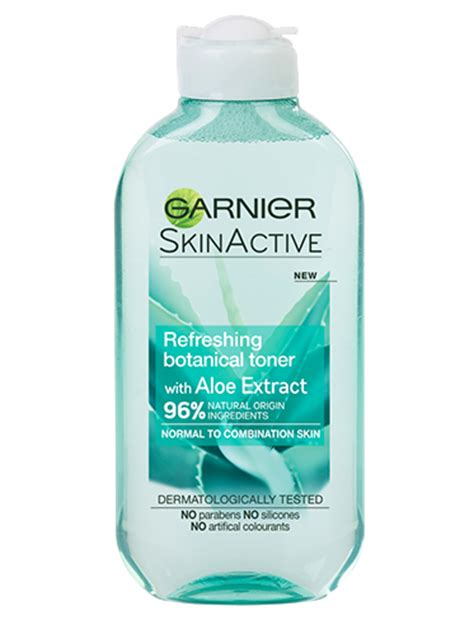 Toner Garnier refreshing botanical toner with aloe extract garnier