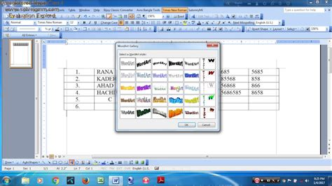 tips and tricks to create a table of contents in word 2010 how to create table by ms word learn computer tips and tricks learn new feasure of computer