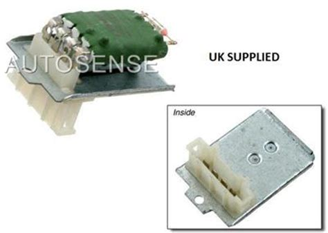 how to test stage resistor vw polo 6n1 heater blower stage resistor 701959263a new