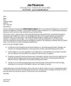 sample it cover letter