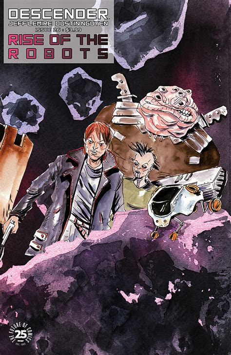 descender volume 5 rise of the robots books nov170741 descender tp vol 05 rise of the robots