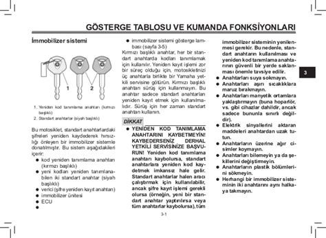 yamaha xmax  abs user manual turkish