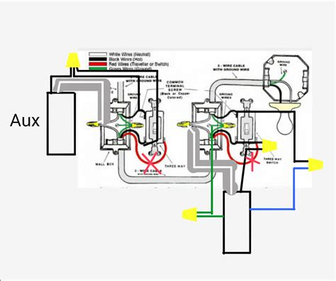 california three way switch wiring diagram wiring diagrams