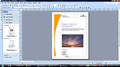 Membuat Flyer Dengan Microsoft Publisher | 301 moved permanently