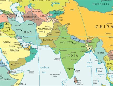 south asia and southeast asia map 1000 ideas about asia map on map of asia