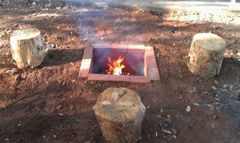 Cheap Fire Pit Scape The Land Pinterest Cheap Firepits