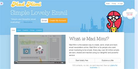 mad mimi templates 10 best email marketing and newsletter services weblizar