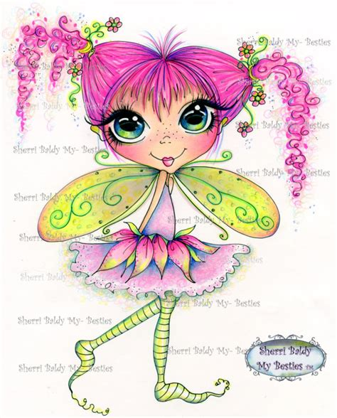 sherri baldy my besties fairy 0692690751 instant download digital digi sts big eye big head dolls